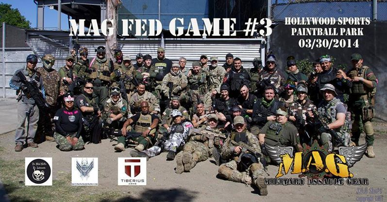 Mag Fed Paintball Game